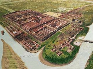 Why the Romans established the fort of Deva Victrix