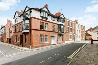 a 3 storey Victorian townhouse in Chester