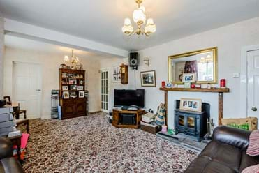 the sitting room in detached house for sale near Tarvin