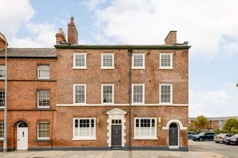 Georgian townhouse for sale in Chester