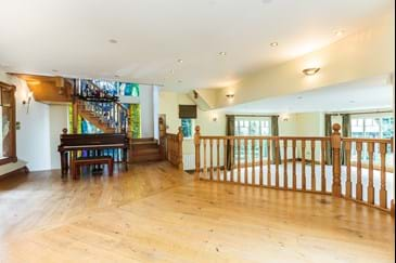 a statement room in a detached house for sale in Cheshire