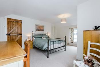 Bedroom in a cottage for sale with Rickitt Partnership estate agent