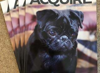 Ralph steals the show with the latest issue of Acquire