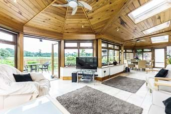 garden room in a detached house for sale with Rickitt Partnership