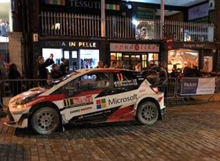 Rickitt Partnership estate agency celebrates Wales Rally GB in style
