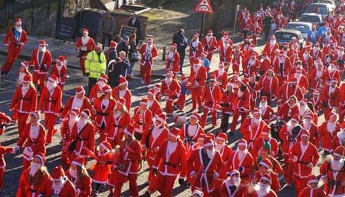 the Chester Christmas Santa Dash