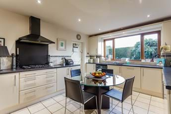 kitchen in a detached family house for sale with estate agent Chester Rickitt Partnership