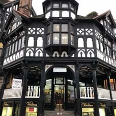 Chester's famous Rows offer double level shopping