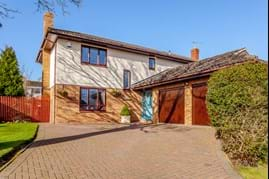 a detached family house for sale in Chester with Rickitt Partnership estate agent