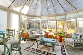a conservatory in a detached house for sale with Rickitt Partnership Chester estate agent