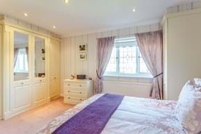 a bedroom in a detached house for sale with Chester estate agency Rickitt Partnership