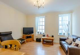 A sitting room in a modern town house for sale in Chester with Rickitt Partnership Chester estate agent