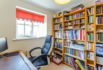 a home office in a detached house for sale with Chester estate agents Rickitt Partnership
