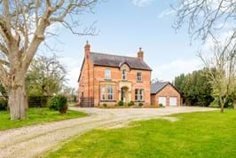 A Victorian period house for sale near Bangor on Dee.  For sale with Chester estate agency Rickitt Partnership