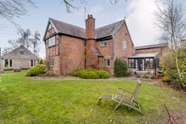Detached period house for sale with Rickitt partnership Chester estate agency