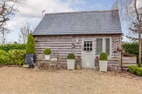 A barn with a house for sale with estate agent Chester Rickitt Partnership