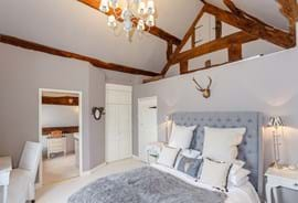 a bedroom in a detached period house for sale with Chester estate agent Rickitt Partnership