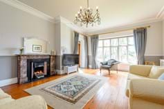 drawing room in a period house for sale in Gresford with Rickitt Partnership Chester estate agent