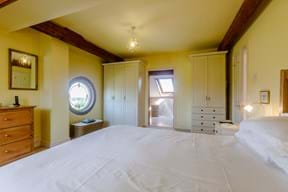 A bedroom in a house for sale with estate agents Chester Rickitt Partnership