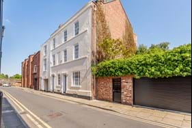 Chester estate agent Rickitt Partnership is selling a Georgian townhouse