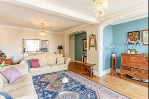 Drawing room in a Georgian townhouse for sale at Chester estate agent Rickitt Partnership