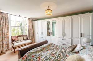 bedroom in a Georgian townhouse for sale with Chester estate agent Rickitt Partnership