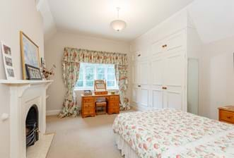 A bedroom in a Victorian house for sale with Rickitt Partnership Chester estate agency