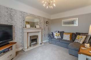 A sitting room in a semi detached house for sale in Newton, Chester with estate agent Rickitt Partnership