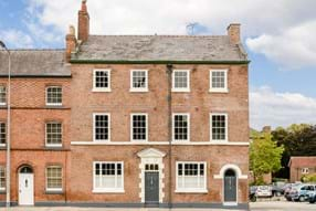 A Georgian townhouse for sale with Chester estate agent Rickitt Partnership