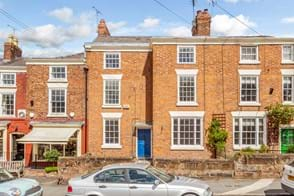 A Georgian townhouse for sale with Rickitt Partnership estate agency in Chester
