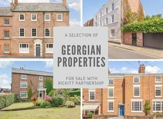 Georgian houses for sale in Chester