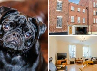 Ralph's review of a modern town house situated within the City walls.
