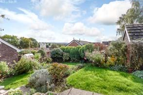 the garden at a bungalow for sale in Malpas
