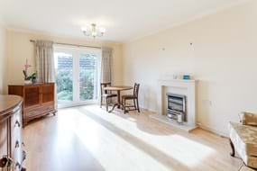 sitting room in a bungalow for sale in Malpas