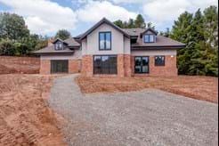 A detached new build house for sale in Kelsall with Rickitt partnership estate agents