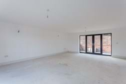 a drawing room in a new build house for sale with Rickitt Partnership estate agents