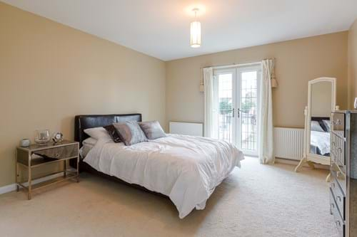 a bedroom in a detached house for sale with Rickitt Partnership