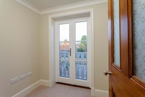 a study with a balcony in a house for sale with Chester estate agent Rickitt Partnership