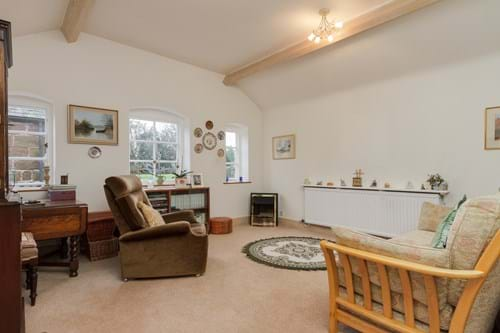 A garden room in a house for sale in Waverton near Chester