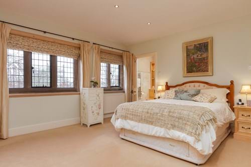 A bedroom in a house for sale with Chester estate agency Rickitt Partnership