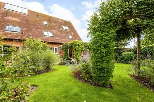the garden at a house for sale with Rickitt Partnership estate agents