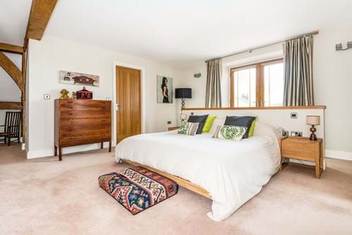 the master bedroom in a house for sale near Chester