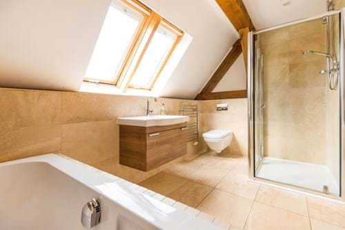 the bathroom in a house for sale in Poulton