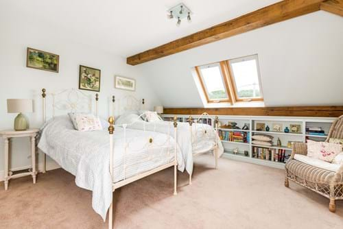 a bedroom in a house for sale in Poulton, Cheshire