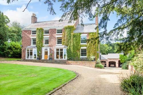 A detached Georgian house for sale with Chester estate agents Rickitt Partnership
