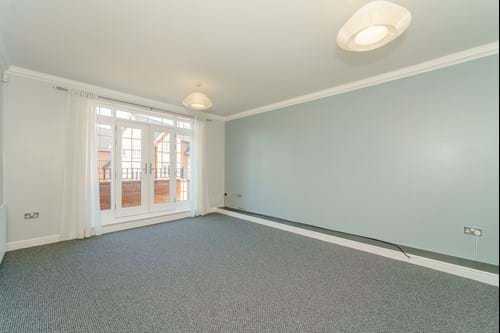 the first floor sitting room with balcony in a house for sale with Chester estate agent Rickitt Partnership