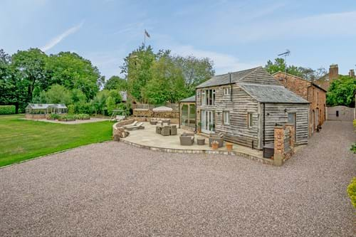a barn conversion for sale in Tattenhall with Chester estate agent Rickitt Partnership