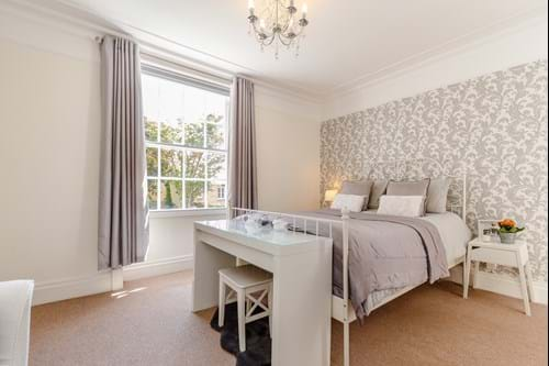 a bedroom in a 4 bedroom Georgian townhouse for sale in Chester