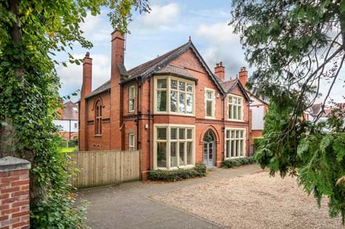 An Arts and Crafts style house for sale in Chester