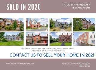 Homes sold in 2020